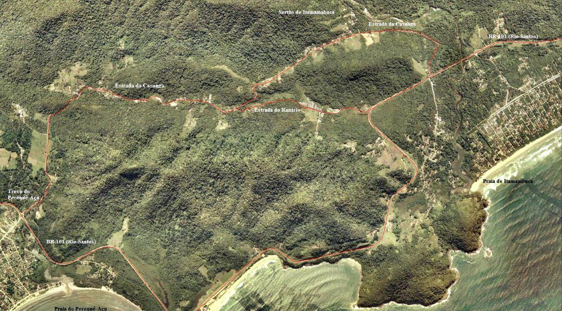Área Quilombola Sertão do Itamambuca