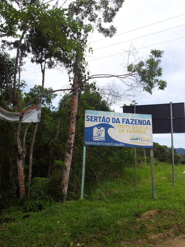 Acesso ao Quilombo Fazenda Picinguaba e Casa da Farinha