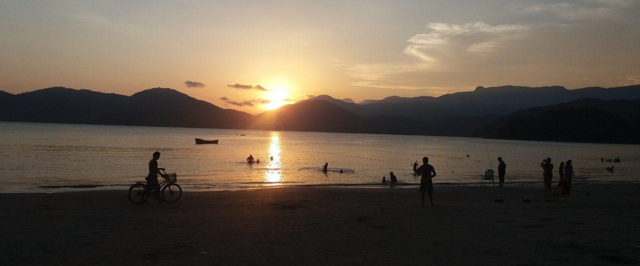 Pôr do Sol na Praia do Lázaro